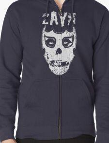 Sami Zayn/Misfits Mashup T-shirt Zipped Hoodie
