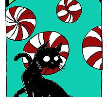 "Dirk Strangely's ""Cats and Sweets"" PEPPERMINTS by Dirk Strangely"