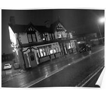 Red Lion Bolton Road Salford Poster