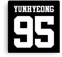iKON Yunhyeong 95 Canvas Print