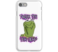 Kermiderp iPhone Case/Skin