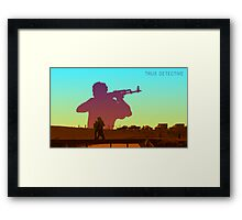Inspired By True Detective IV Framed Print