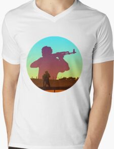 Inspired By True Detective IV Mens V-Neck T-Shirt