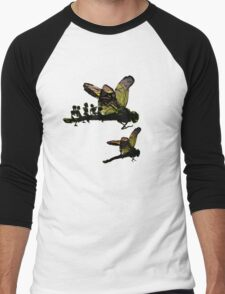 surreal ladybugs Men's Baseball ¾ T-Shirt