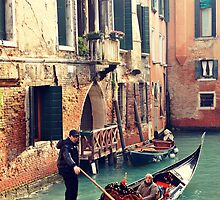 Gondola in Venice by styles