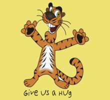 "Tiger ""Give us a Hug"" Baby Tee"