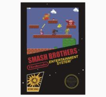 nes smash bros Kids Tee