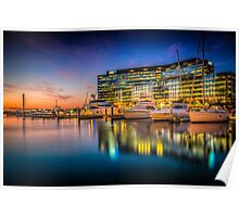 Docklands Reflections Poster