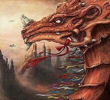 tibet dragon by Mummyfei