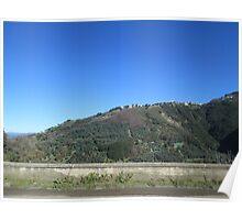 Mountain landscape 1 Poster