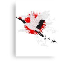 1000 cranes Canvas Print
