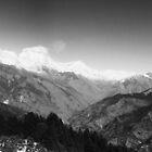 Annapurna Range. Himalayas. by johnkimages