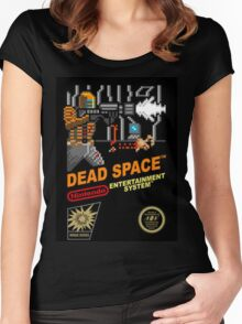 dead space nes cover art Women's Fitted Scoop T-Shirt