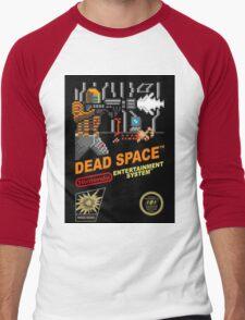 dead space nes cover art Men's Baseball ¾ T-Shirt