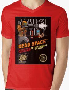 dead space nes cover art Mens V-Neck T-Shirt