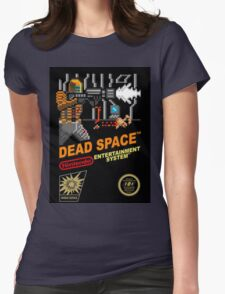 dead space nes cover art Womens Fitted T-Shirt