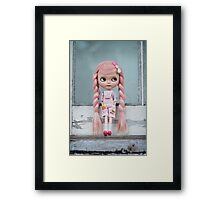Window to the pink soul Framed Print
