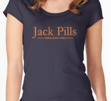 Jack Pills, Fabulously high, Orange Women's Fitted Scoop T-Shirt