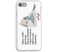 Mike Tyson Mysteries-- Pigeon Phone iPhone Case/Skin