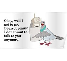 Mike Tyson Mysteries-- Pigeon Phone Poster