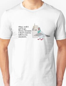 Mike Tyson Mysteries-- Pigeon Phone Unisex T-Shirt