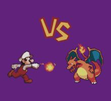 Mario VS Charizard! by FinalFee