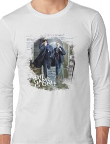 Sherlock: The Game is On! Long Sleeve T-Shirt