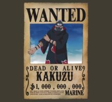 Wanted Poster Kakuzu by BadrHoussni