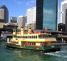 Sydney Ferry by GeorgeOne