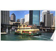 Sydney Ferry Poster