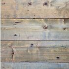 Horizontal worn plank wall by Kristian Tuhkanen