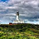 Flamborough Head Lighthouse by Trevor Kersley