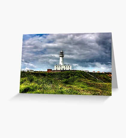Flamborough Head Lighthouse Greeting Card