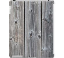 Vertical worn plank wall iPad Case/Skin
