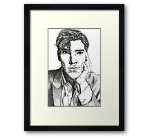 Benedict Cumberbatch - The Man out of Time Framed Print