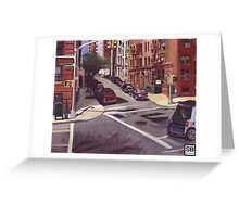 103rd street city scape Greeting Card