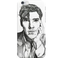 Benedict Cumberbatch - The Man out of Time iPhone Case/Skin