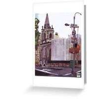 97th street city scape  Greeting Card