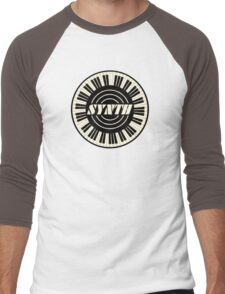 Cool Synth Men's Baseball ¾ T-Shirt