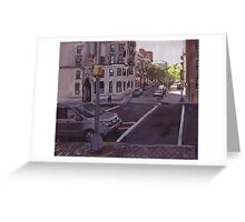 102st city scape. Greeting Card