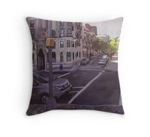 102st city scape. Throw Pillow