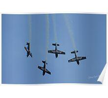 The Blades at Waddington Airshow Poster