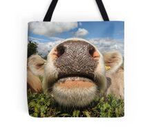 Funny Amusing Cow Tote Bag