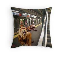 zoo ny Throw Pillow