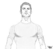 Cristiano Ronaldo DKdoodle by DKdoodle