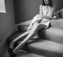 There, on the stair. by Dave Hare