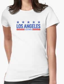 Retro Los Angeles, CA (Blue) T-Shirt