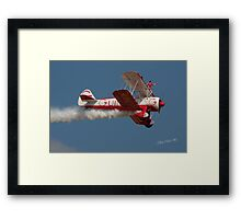 Team Guinot (Breitling Wingwalkers) at Waddington Airshow Framed Print