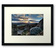 Peak District - Surprise View Framed Print