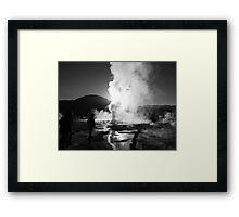 El Tatio at sunrise 2 Framed Print